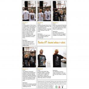 Factsheet: limited edition t-shirts