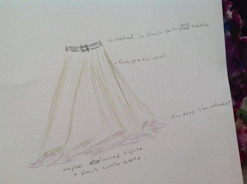 skirt design rosybro