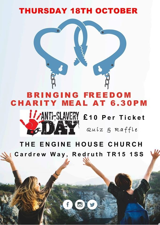 Bringing Freedom Charity Meal poster